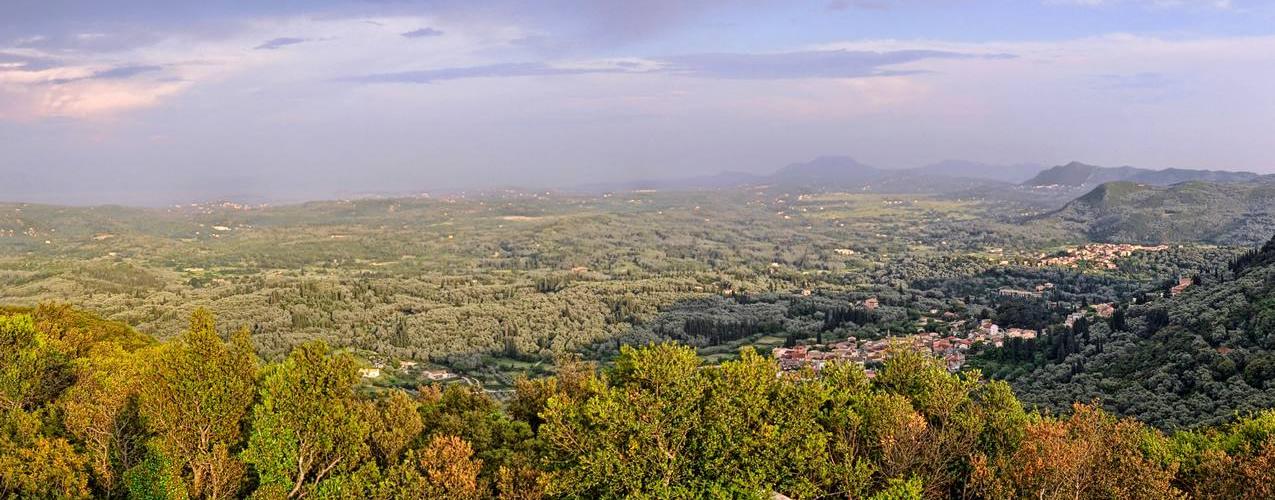 Doukades Village View